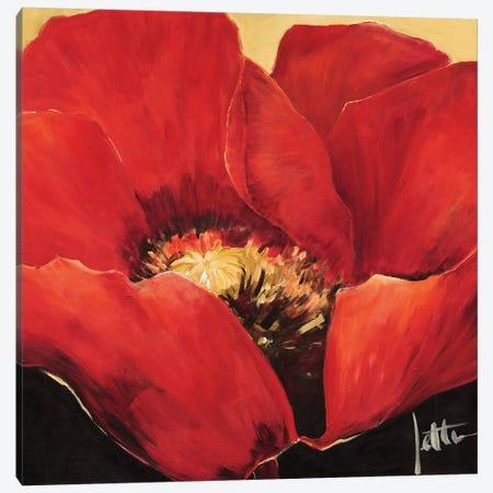 Red Beauty II Canvas Print #JET24} by Jettie Roseboom Art Print