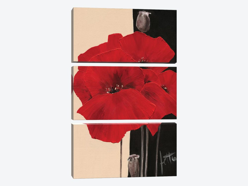 Refined II by Jettie Roseboom 3-piece Canvas Art Print
