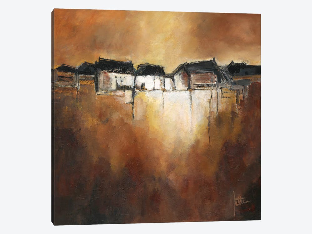 Restful Scene III by Jettie Roseboom 1-piece Canvas Artwork