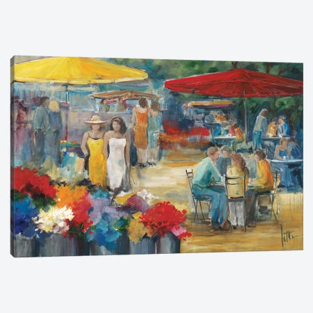 Summer Market I Canvas Print #JET28} by Jettie Roseboom Canvas Art