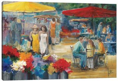 Summer Market I Canvas Art Print