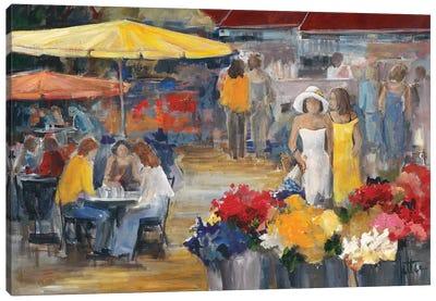 Summer Market II Canvas Art Print