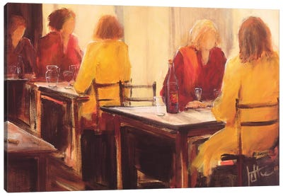 A Good Conversation II Canvas Art Print