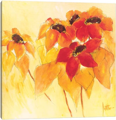 Sunshiny I Canvas Art Print