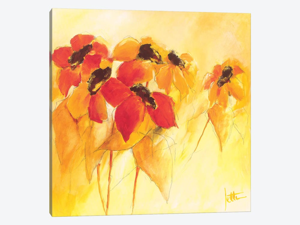 Sunshiny II by Jettie Roseboom 1-piece Canvas Art Print