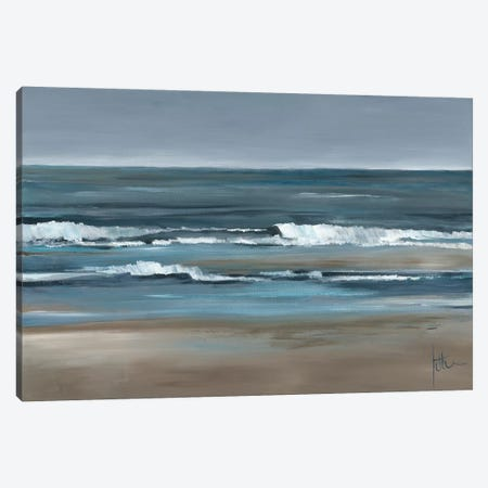 Waves I Canvas Print #JET34} by Jettie Roseboom Canvas Artwork