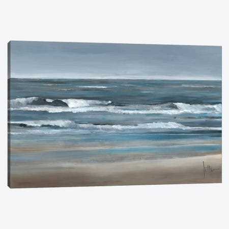 Waves II Canvas Print #JET35} by Jettie Roseboom Canvas Wall Art