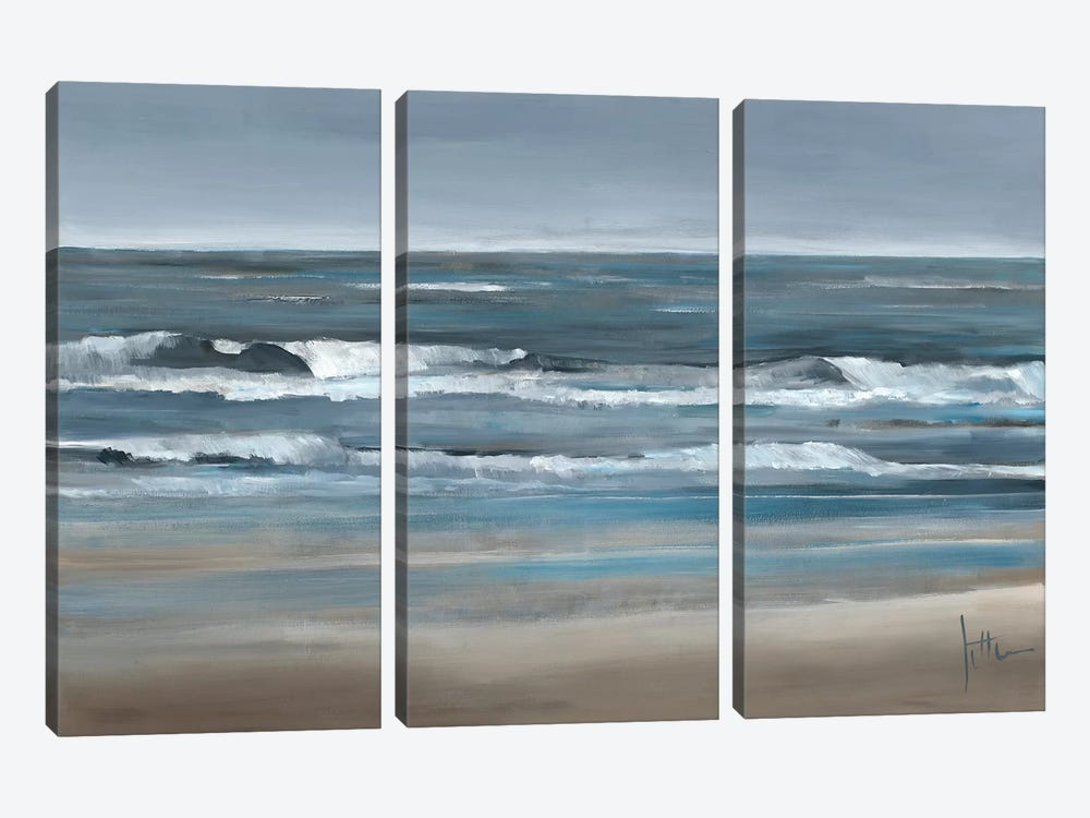 Waves II by Jettie Roseboom 3-piece Canvas Print