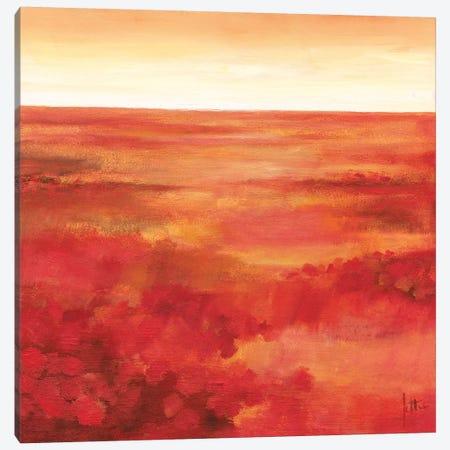 Wild Flowers I Canvas Print #JET36} by Jettie Roseboom Canvas Artwork