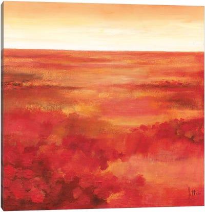 Wild Flowers I Canvas Art Print