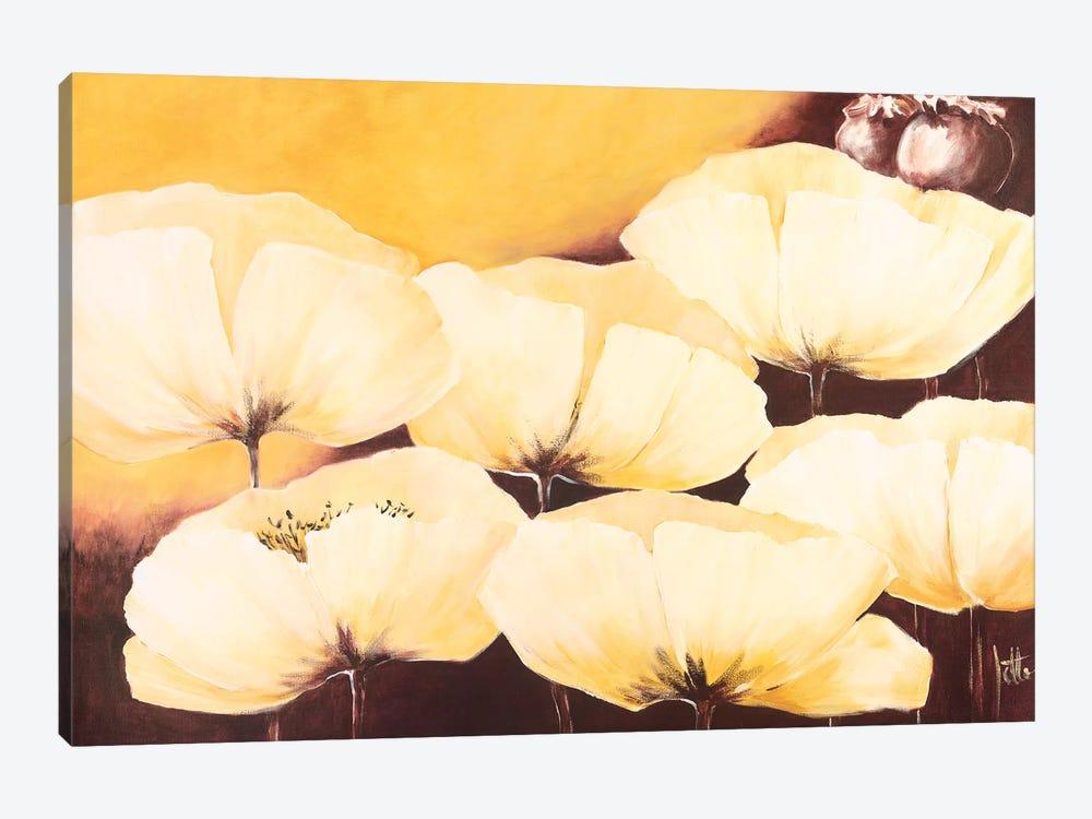 Yellow Poppies II by Jettie Roseboom 1-piece Canvas Print