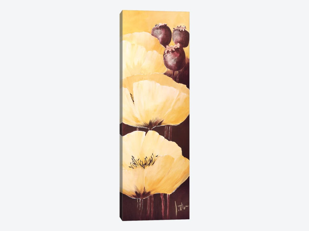Yellow Poppies IV by Jettie Roseboom 1-piece Canvas Wall Art