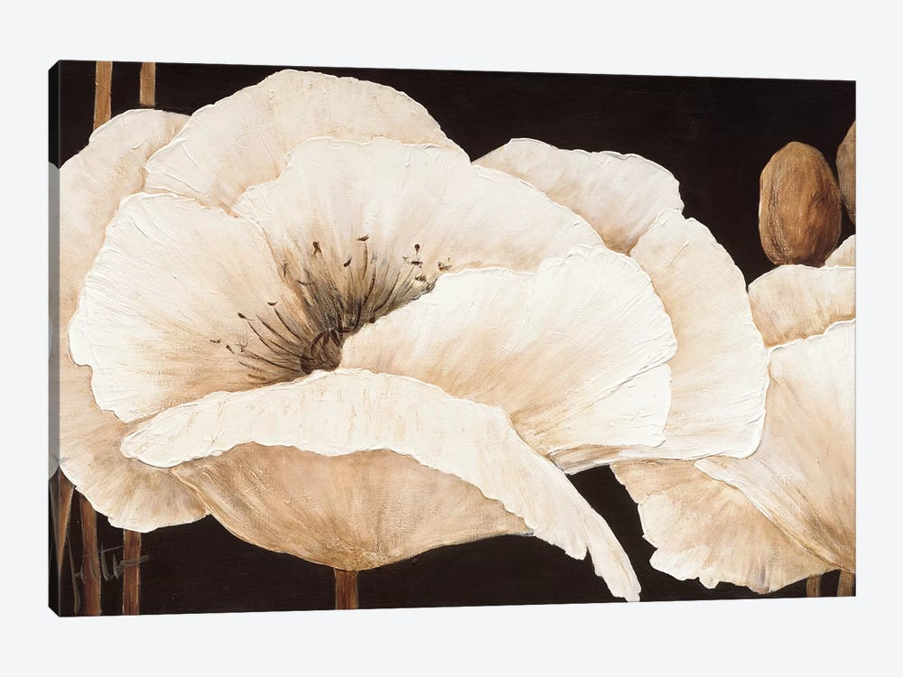 Amazing Poppies III 1-piece Canvas Print