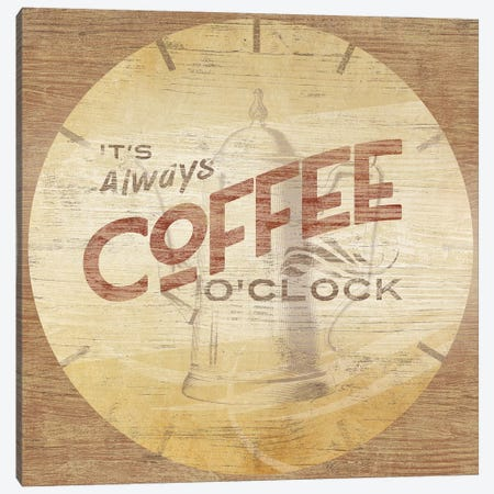 Beverage O'Clock I Canvas Print #JEV1007} by June Erica Vess Canvas Artwork