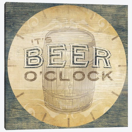 Beverage O'Clock III Canvas Print #JEV1009} by June Erica Vess Art Print