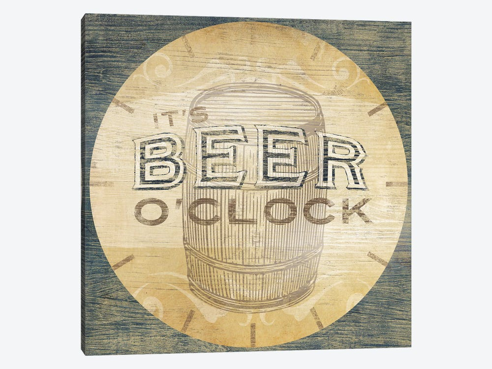 Beverage O'Clock III by June Erica Vess 1-piece Canvas Wall Art