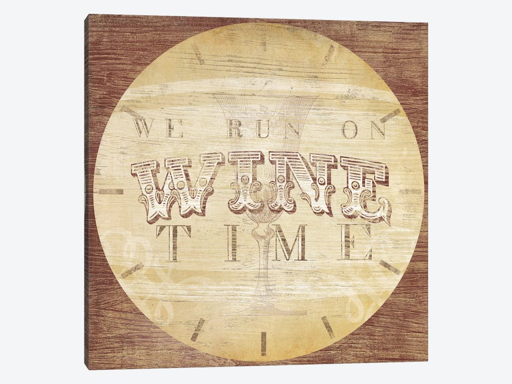 Beverage O'Clock IV by June Erica Vess 1-piece Canvas Artwork