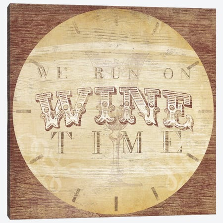 Beverage O'Clock IV Canvas Print #JEV1010} by June Erica Vess Canvas Wall Art