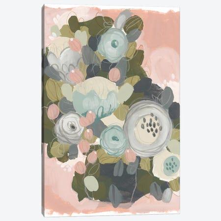 Blossom Cascade I Canvas Print #JEV1011} by June Erica Vess Canvas Artwork