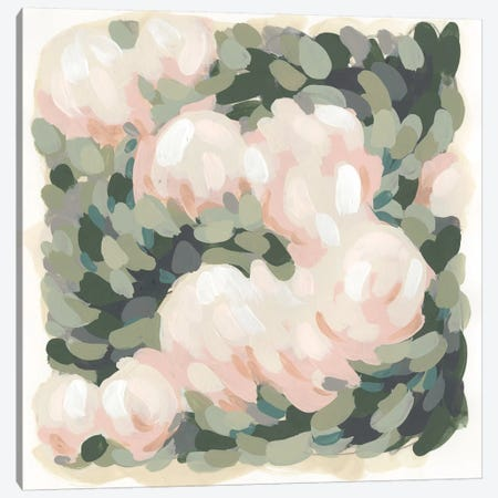 Blush & Celadon I Canvas Print #JEV1013} by June Erica Vess Canvas Artwork