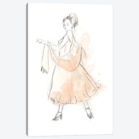 Blush & Grey Fashion IV Canvas Print #JEV1018} by June Erica Vess Canvas Artwork