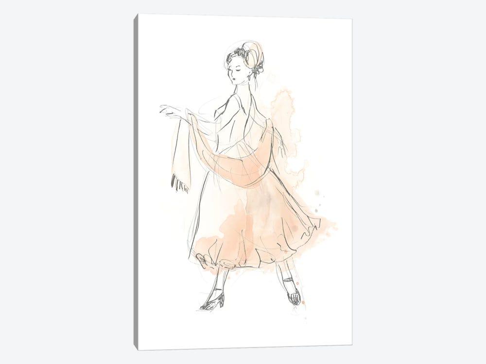 Blush & Grey Fashion IV by June Erica Vess 1-piece Canvas Wall Art