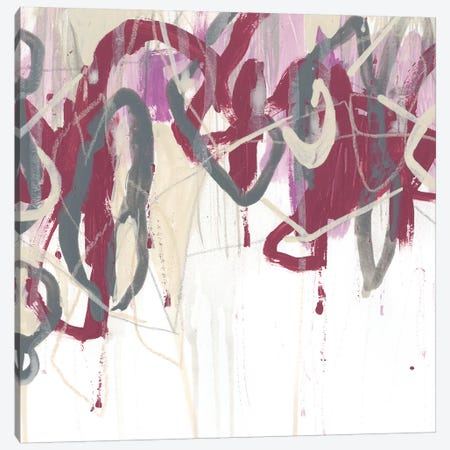 Chrystalline Structure I Canvas Print #JEV1025} by June Erica Vess Canvas Artwork