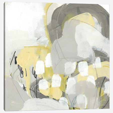 Citron Mist I Canvas Print #JEV1027} by June Erica Vess Canvas Wall Art