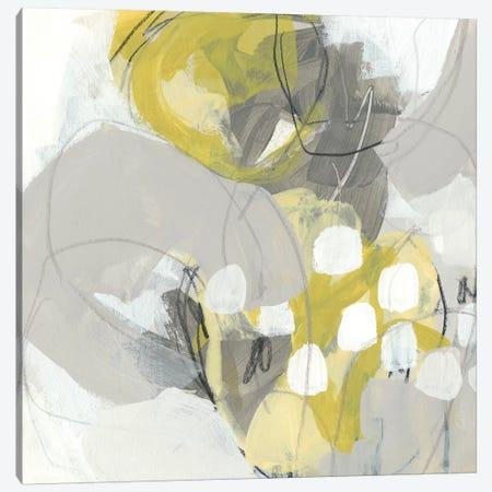 Citron Mist II Canvas Print #JEV1028} by June Erica Vess Canvas Art Print