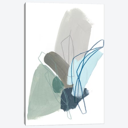Coda I Canvas Print #JEV1037} by June Erica Vess Art Print