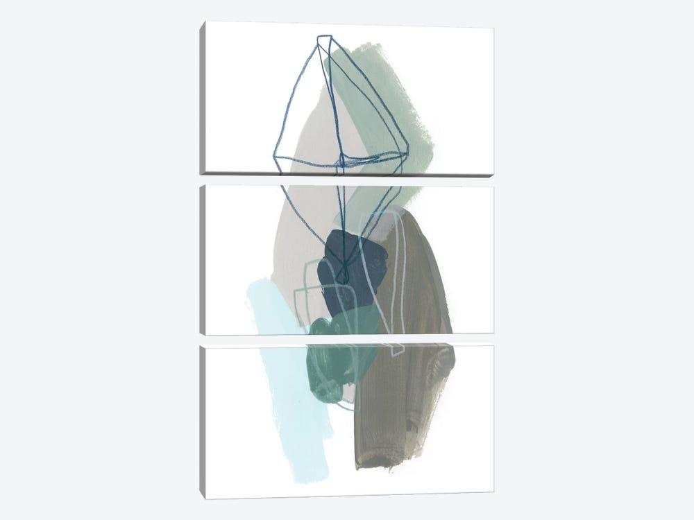Coda V by June Erica Vess 3-piece Canvas Print