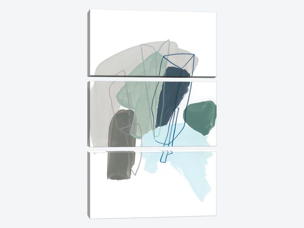 Coda VI by June Erica Vess 3-piece Canvas Art