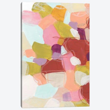 Color Cartography II Canvas Print #JEV1047} by June Erica Vess Canvas Artwork
