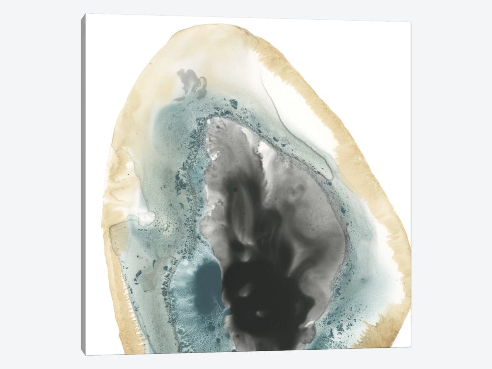 Cropped Geodes III 1-piece Canvas Art Print