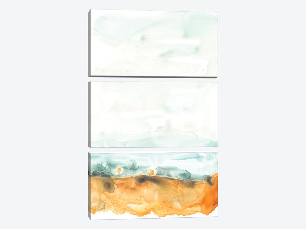 Flowing Sand Bar I by June Erica Vess 3-piece Canvas Art Print