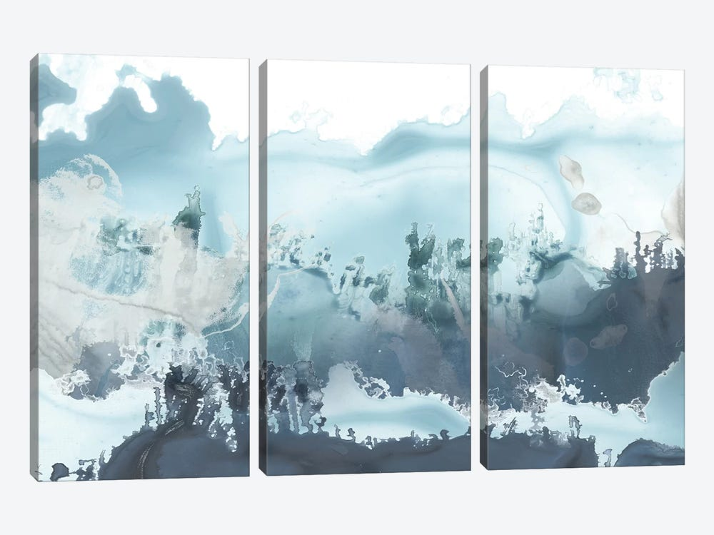 Forest Sea I by June Erica Vess 3-piece Canvas Wall Art