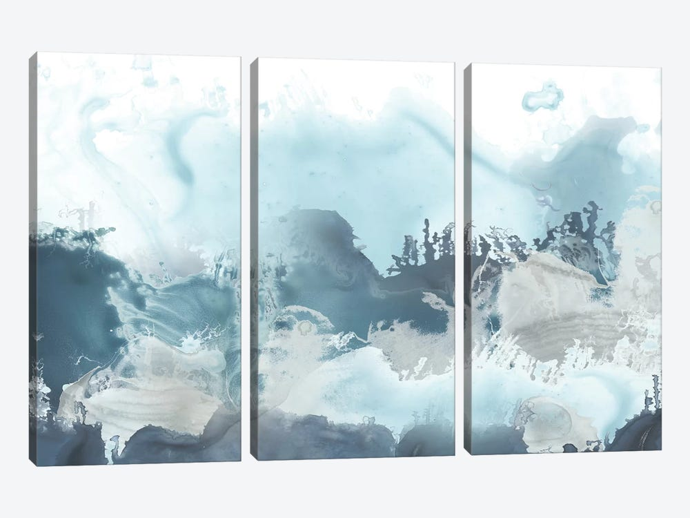Forest Sea II by June Erica Vess 3-piece Canvas Art Print