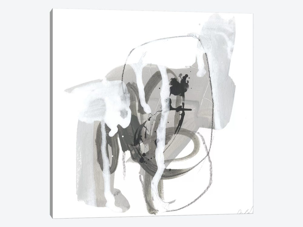 Gray Scale I by June Erica Vess 1-piece Canvas Artwork