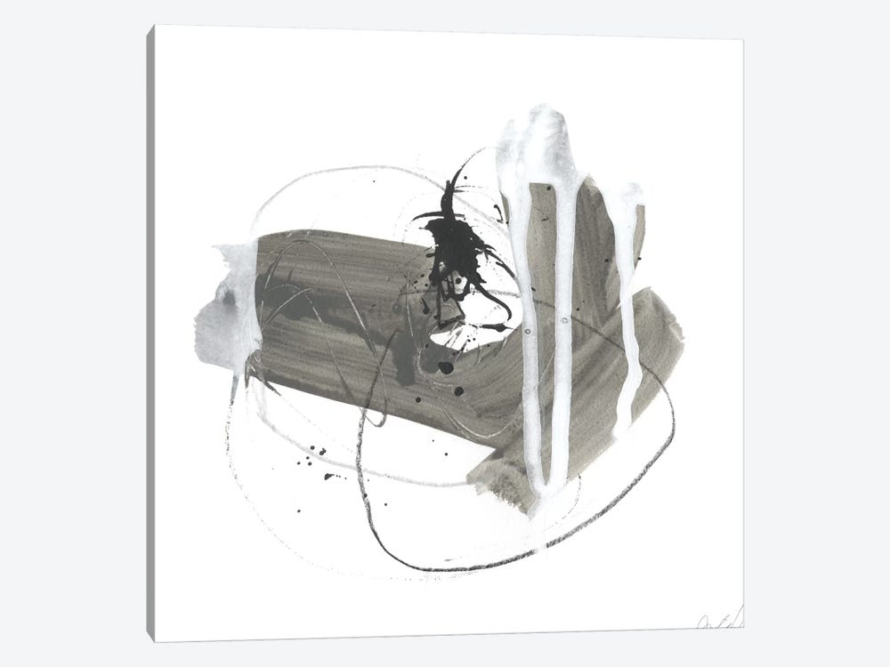 Gray Scale IV by June Erica Vess 1-piece Canvas Wall Art