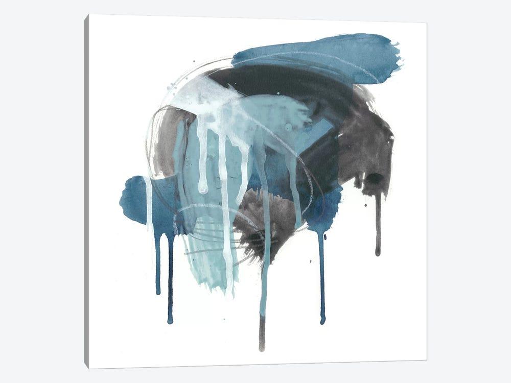 Incidental Indigo I by June Erica Vess 1-piece Canvas Art Print