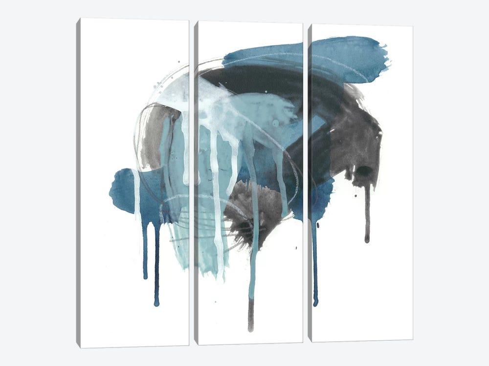 Incidental Indigo I by June Erica Vess 3-piece Art Print
