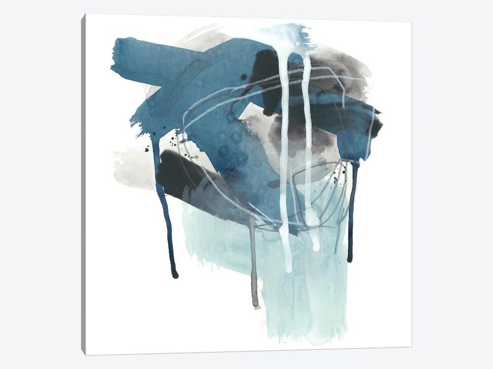 Incidental Indigo III by June Erica Vess 1-piece Canvas Print