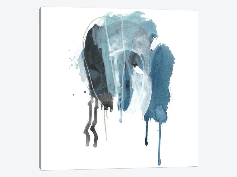Incidental Indigo V by June Erica Vess 1-piece Canvas Wall Art