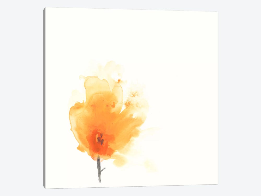 Expressive Blooms X 1-piece Canvas Print
