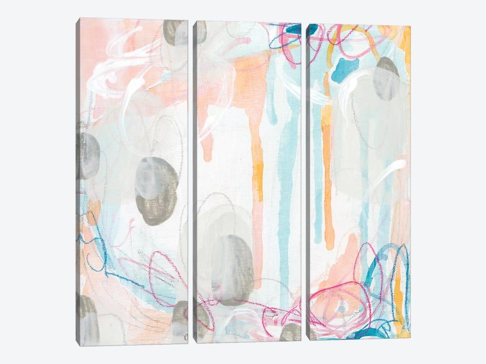 Interior Orbit IV by June Erica Vess 3-piece Canvas Artwork