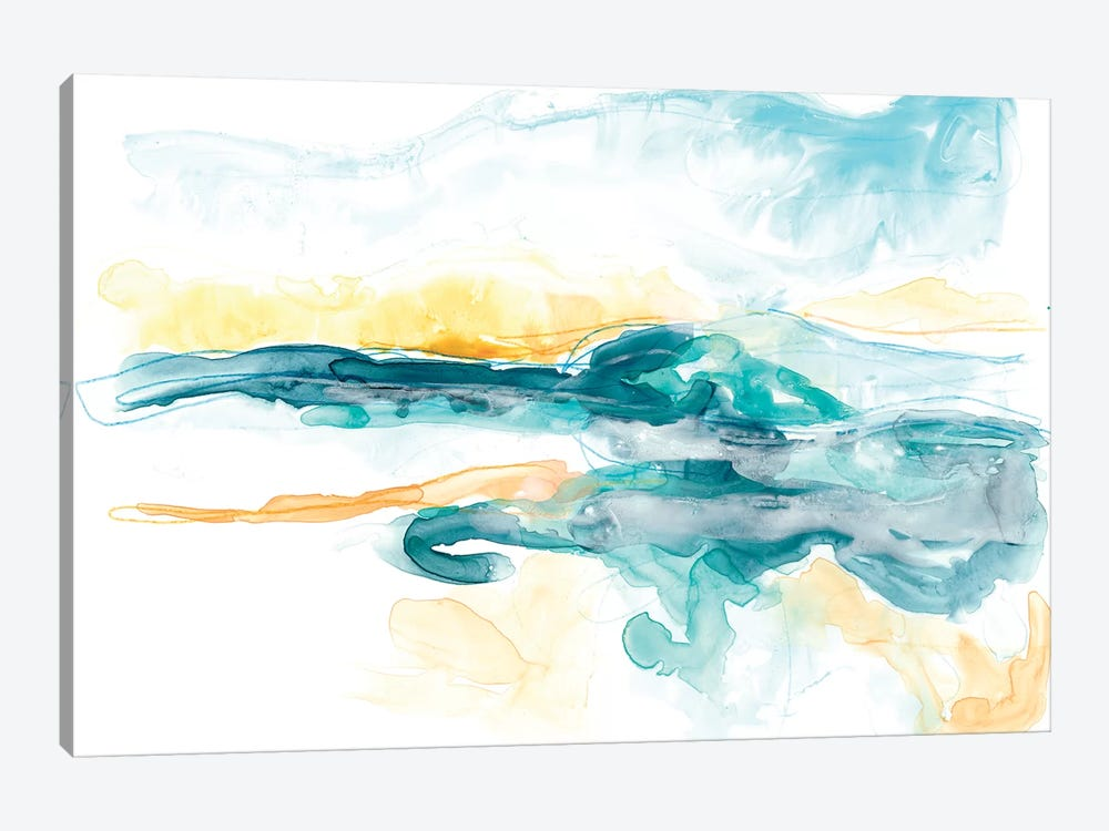 Liquid Lakebed I by June Erica Vess 1-piece Canvas Art Print