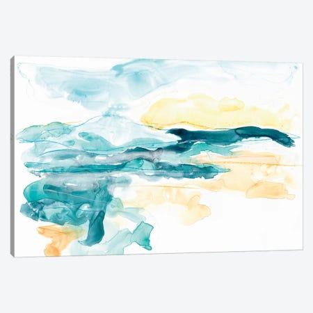 Liquid Lakebed II Canvas Print #JEV1094} by June Erica Vess Art Print