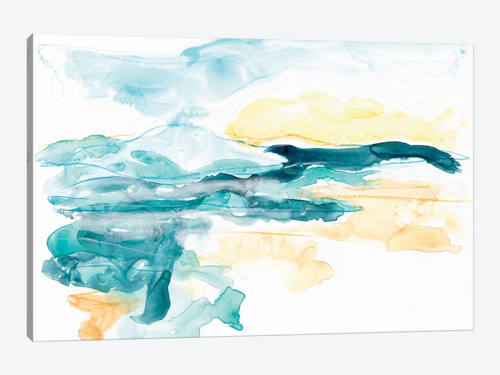 Liquid Lakebed II by June Erica Vess 1-piece Canvas Wall Art