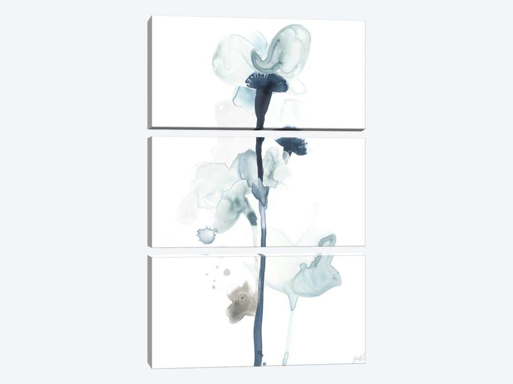 Midnight Blossoms I by June Erica Vess 3-piece Art Print