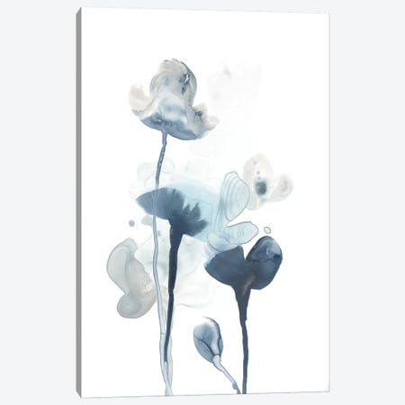 Midnight Blossoms IV Canvas Print #JEV1100} by June Erica Vess Canvas Wall Art